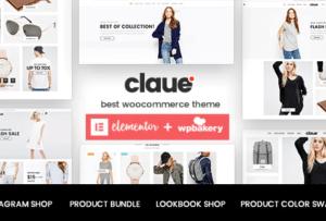 Claue Clean Minimal WooCommerce Theme 2.1.0
