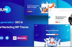 Onum SEO And Marketing Theme 1.2.6