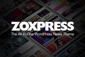 ZoxPress News WordPress Theme 2.05.0