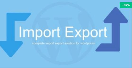 WP Import Export plugin