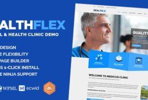 HEALTHFLEX 2.2.0 – Medical Clinic & Health Theme