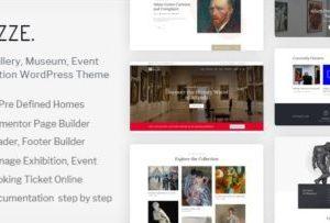 Muzze 1.3.2 – Museum Art Gallery Exhibition Theme