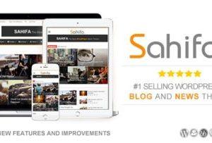 Sahifa News And Magazine Theme 5.7.6