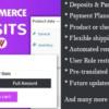 WooCommerce Deposits Plugin