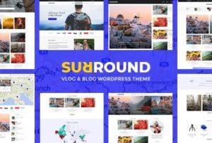 Surround Vlog and Blog WordPress Theme 1.0.6