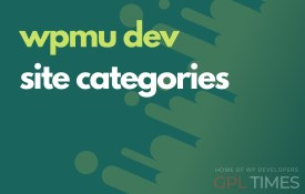 wpmudev site categories