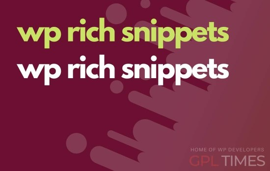 wprich snippets wp rich snippets