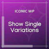 Iconic Show Single Variations