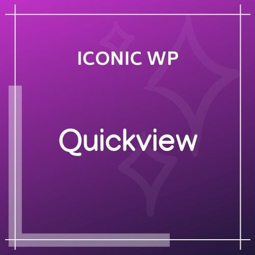 Iconic WooCommerce Quickview
