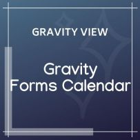 gv Gravity Forms Calendar