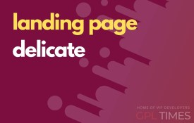 landing page delicate