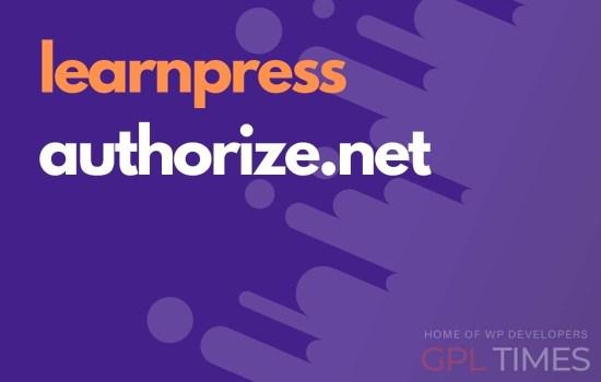 learn press authorize net