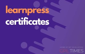 learn press certificates