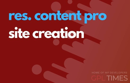 rc pro site creation