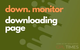 down monitor downloading page
