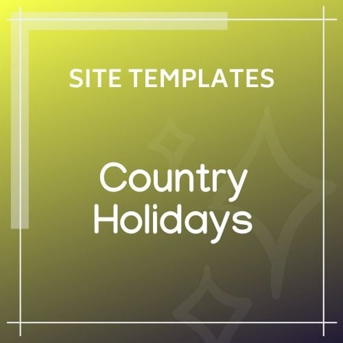 template CountryHolidays