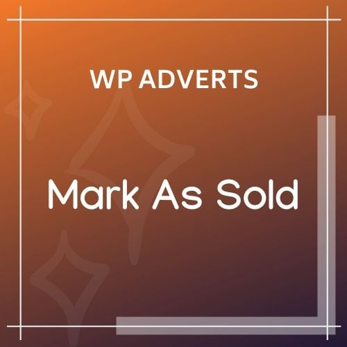 wpadverts Mark As Sold