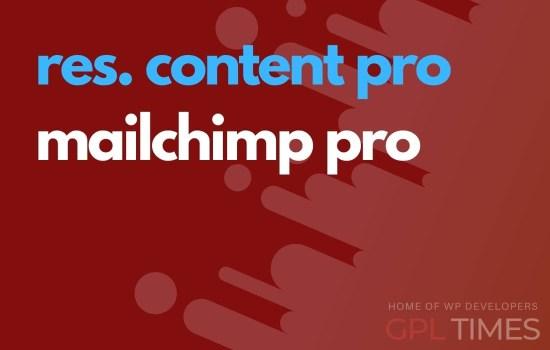 rc pro mailchimp pro