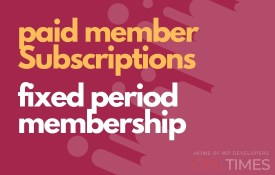 paid member fixed period membership