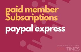 paid member paypal express