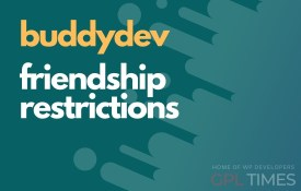 buddydev friendship restrictions