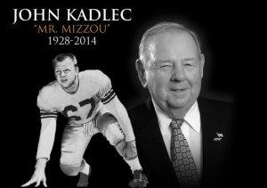 John Kadlec Mr. Mizzou 1928-2014