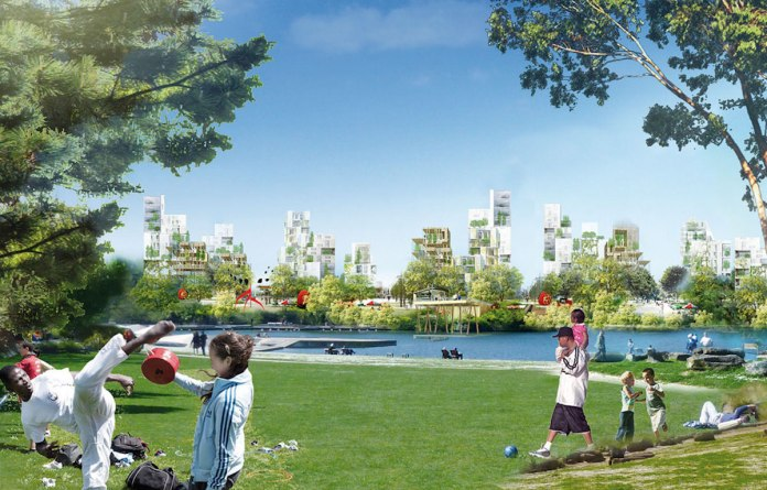 Image du projet de Central Park de Roland Castro