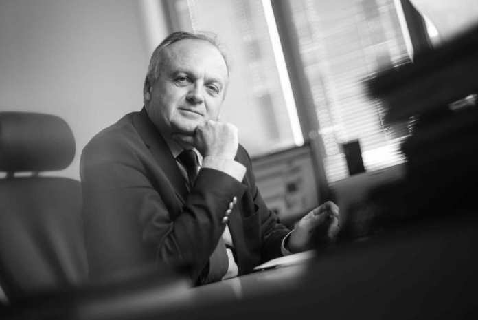 Portrait de Philippe Yvin, président de la Société du Grand Paris