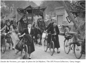 1940 : LES PARISIENS DANS L'EXODE - Exposition @ MUSÉE DE LA LIBÉRATION DE PARIS – MUSÉE DU GÉNÉRAL LECLERC – MUSÉE JEAN MOULIN