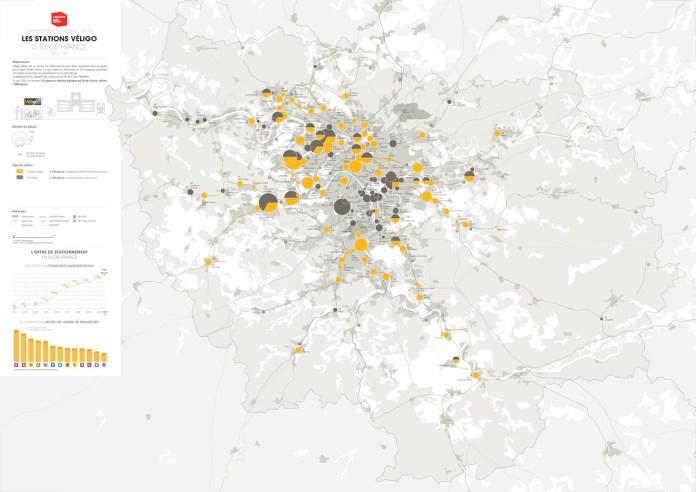 Cartographie Stations Véligo