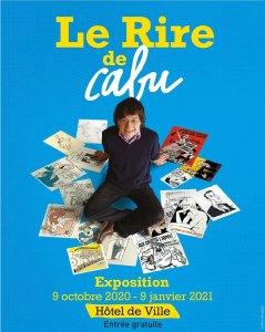 LE RIRE DE CABU - Exposition à l'Hôtel de Ville de Paris @ Salle Saint-Jean - Hôtel de Ville de Paris