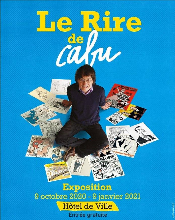 Affiche de l'exposition Le Rire de Cabu