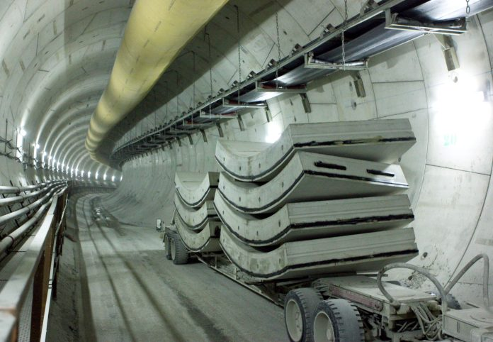 tunnel ligne 12 métro