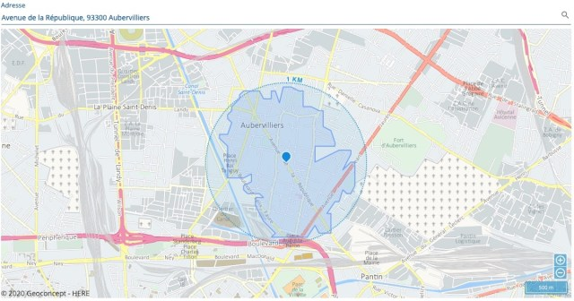 Cartographie Geoconcept