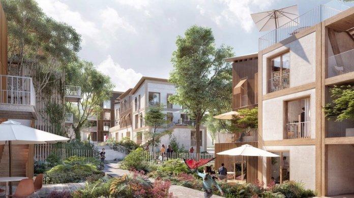 Logements sociaux et accession à Noisy-le-Grand - Crédit LA Architectures