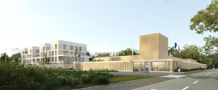 Gendarmerie de Moulon ©Palast-Nicolas Lombardi Architecture