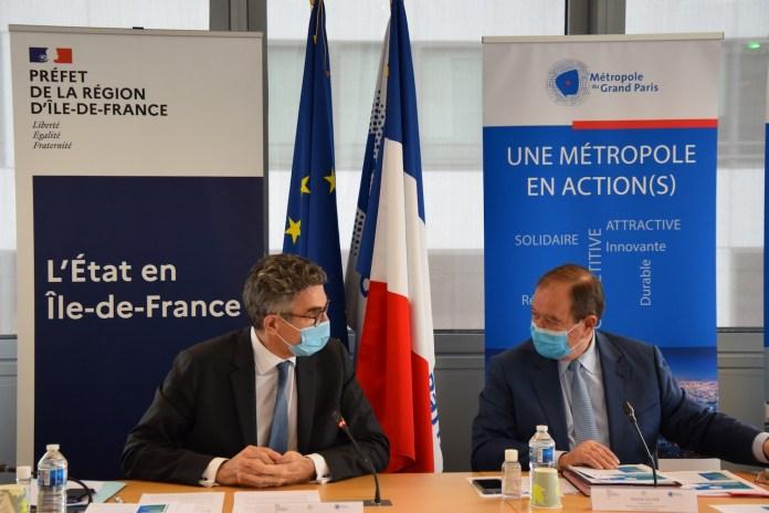 Signature CRTE métropole du grand paris