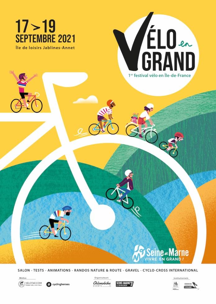 Affiche festival Vélo en Grand