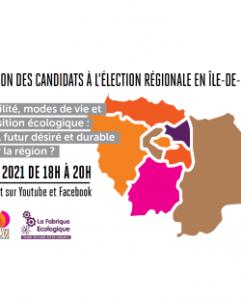 Audition des candidats à l'élection régionale - Forum Vies Mobiles @ En ligne