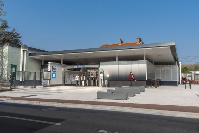 Nouvelle gare du RER b croix de berny