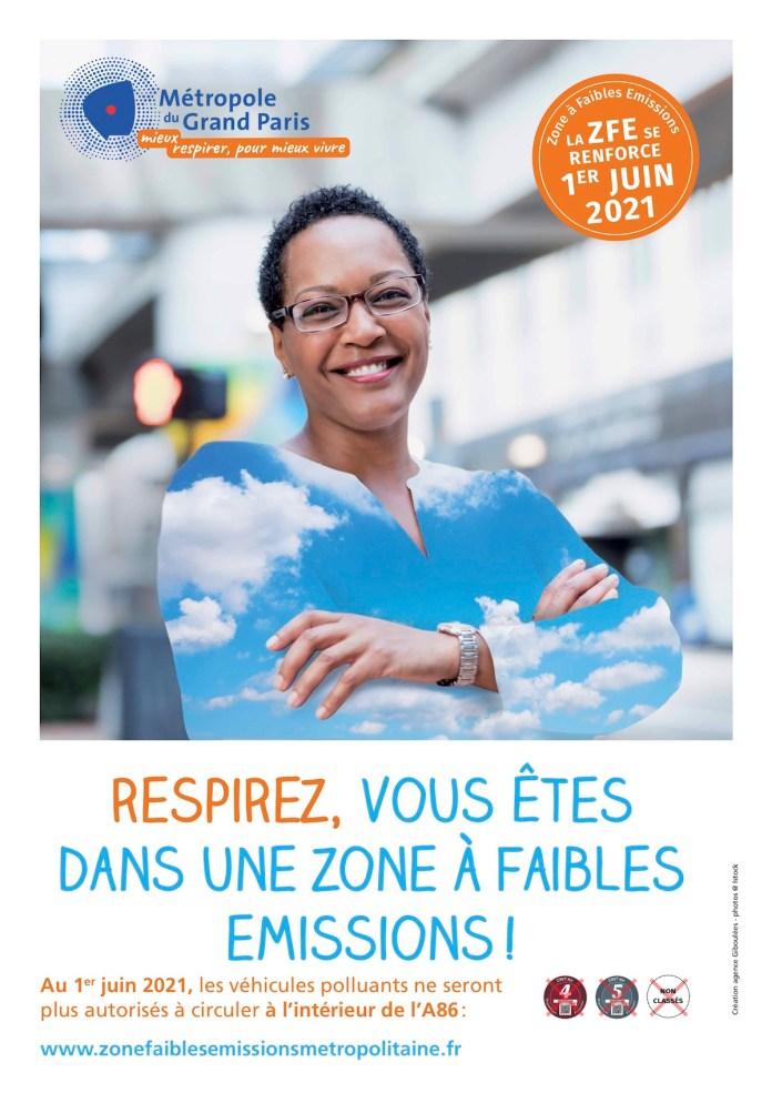 Visuel ZFE Métropole du Grand Paris