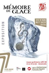 EXPOSITION MÉMOIRE DE GLACE - Musée de préhistoire d'Île-de-France @ Musée de préhistoire d'Ile-de-France