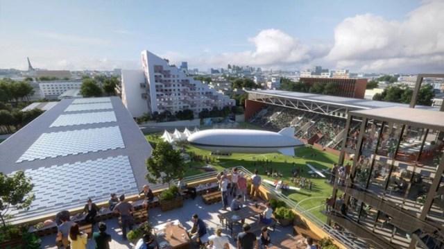 Projet Stade Bauer Saint Ouen