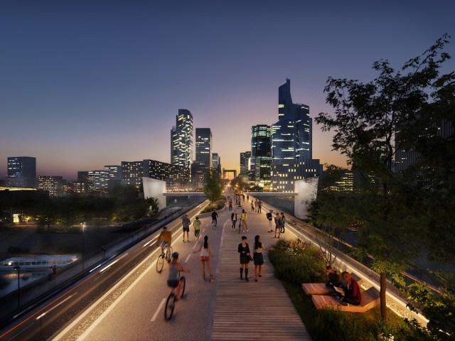 Le Chemin, concept Groupama Immobilier pour La Défense, projet Enia Architectes