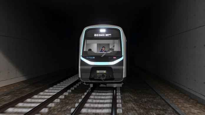 Design nouveau RER B