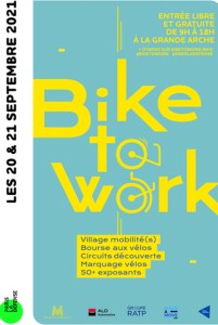 Bike to Work - La Défense @ Grande Arche de La Défense