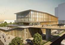 Visuel de la future gare Saint-Denis Pleyel du Grand Paris Express