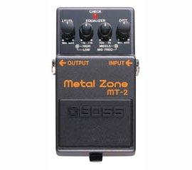 Boss - MT-2, Metal Zone