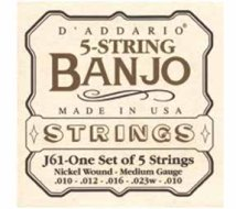 DAddario - J61-One Set of 5 Strings