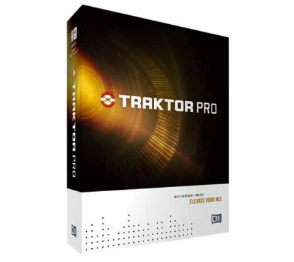 Native Instruments - Traktor Pro,  DJ software for PC og Mac